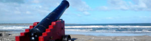 Cannon at Strandhill Sligo