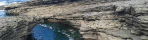 water flowing through inlet