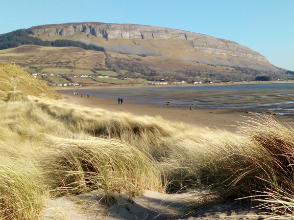 Strandhill Beach with Knocknarea
