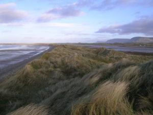 Streedagh Strand where De Cuellar was washed up with others in North Sligo