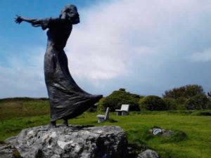 Annie, a Famous Sligo Statue in Rosses Point