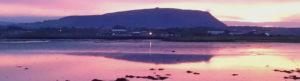 Knocknarea Mountain & Sligo Harbour at Sunset