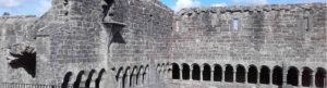 Inside the Cloister of Sligo Abbey on the Sligo Town Trail