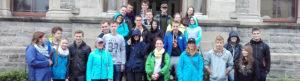 Auriel of Seatrails with Group at Sligo City Hall
