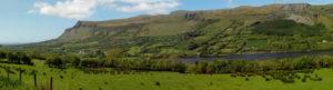 The Beautiful U Shaped Valley of Glencar in Sligo in Summertime
