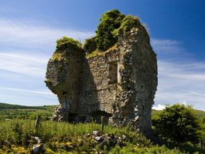 Castletown Ruin where De Cuellar took refuge in Co Leitrim