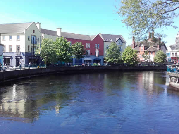 the Beautiful Garavogue River that flows through Sligo Town