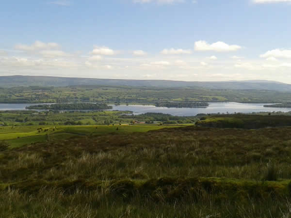 view over Lough Arrow