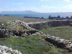 Inishmurray Island during Summer time in Sligo and the Blue Wild Atlantic Way