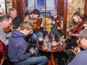 A Traditional Irish Music Session in Sligo