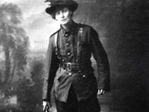 Constance Markieviecz of Sligo Armed and Ready
