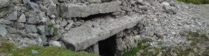 door into tomb