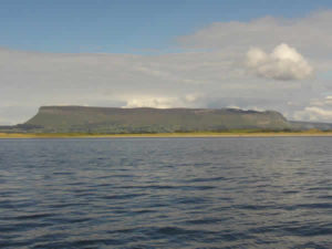Benbulben from the water in Sligo bay