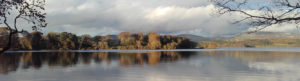 Lough Gill on a calm day in Autumn