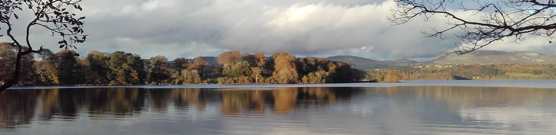 Lough Gill on a calm day