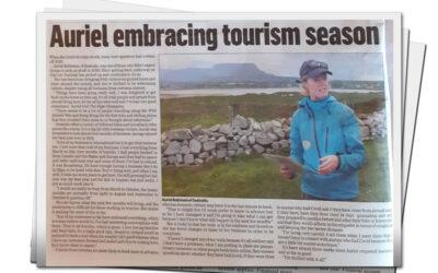 Auriel Embracing tourism season