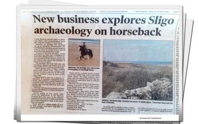 New Business explores Sligo archaeology on Horseback