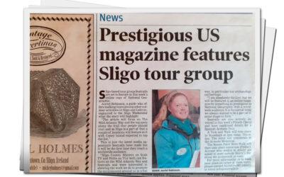 Prestigious US magazine features Sligo tour group