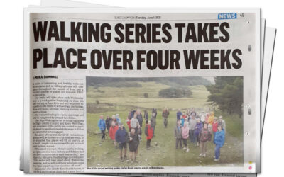 Walking series takes place over four weeks